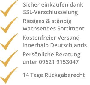 Gute Gründe für SuperSack.de!