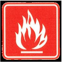 Palettenkissen feuerfest nach BS 5852-1 und EN 1021-1