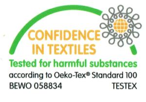 Palettenkissen mit Bezug gemäß Öko-Tex Standard 100