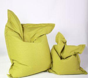 Sitzsack Savana grün groß und klein