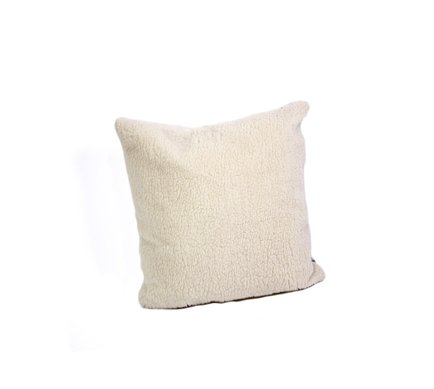 dekokissen wooly 40x40 dekokissen bei supersack. Black Bedroom Furniture Sets. Home Design Ideas
