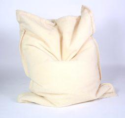 SuperSack Sitzsack Wooly in weiß