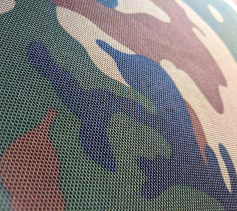 Detailaufnahme Camouflage