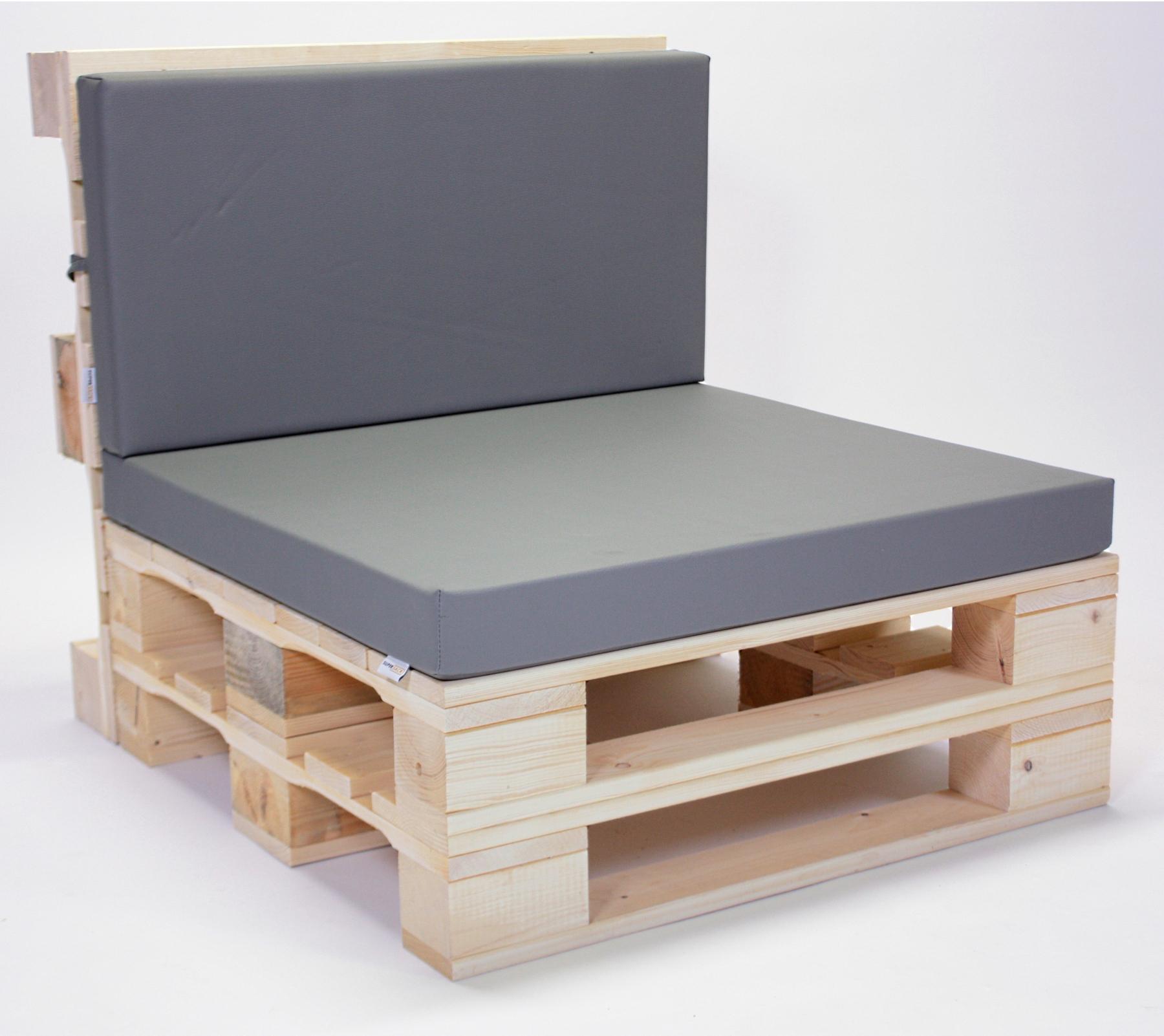 Paletten-Sessel mit Polster | WIR ? PALETTENMÖBEL