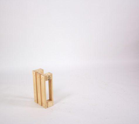 SuperSack Palettenmöbel - Bierbankbein