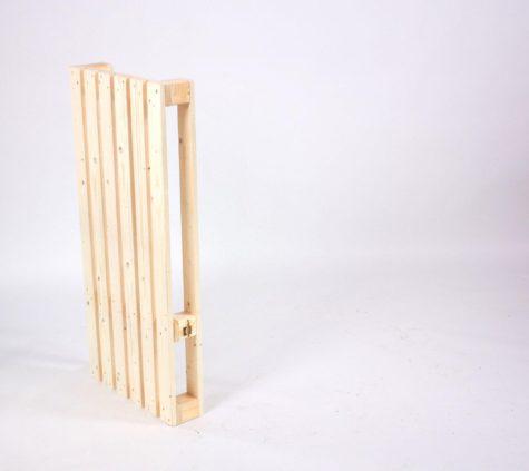 SuperSack Palettenmöbel - Stehtischbein in natur
