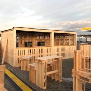 Bar- & Verkaufshütten mieten - 5 - Palettenmöbel mieten bei SuperSack