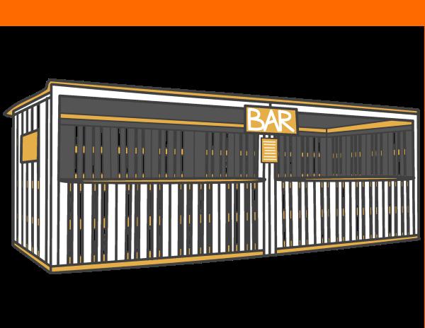 Bar- & Verkaufshütten mieten