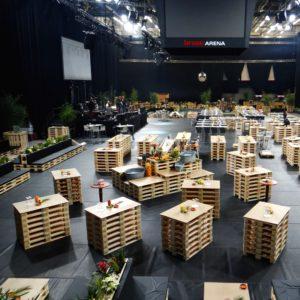 Buffet mieten - 4 - Palettenmöbel mieten bei SuperSack