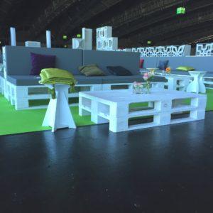 Kissen & Polster mieten - 4 - Palettenmöbel mieten bei SuperSack