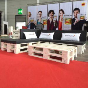 Kissen & Polster mieten - 5 - Palettenmöbel mieten bei SuperSack