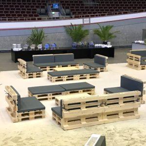 Loungemöbel und Sofas mieten - 6 - Palettenmöbel mieten bei SuperSack