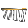 Bars & Tresen aus Paletten mieten