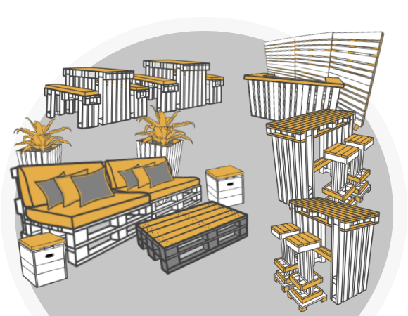 Palettenmöbel - Palettenmöbel kaufen bei SuperSack