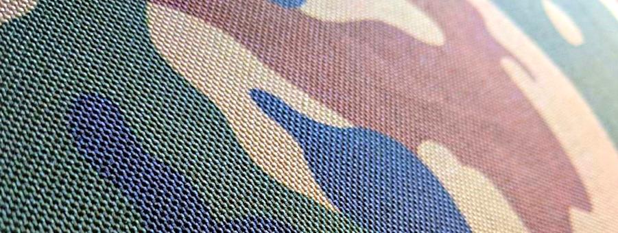 Detailaufnahme - Sitzsack Indoor Camouflage