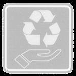 Umweltschonend hergestellt - grau