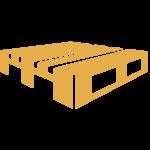 Möbel in klassischer Palettenoptik