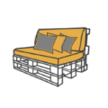 Paletten-Sofas & Loungemöbel kaufen bei SUPERSACK