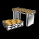 Tische mieten - Mietmöbel von SUPERSACK