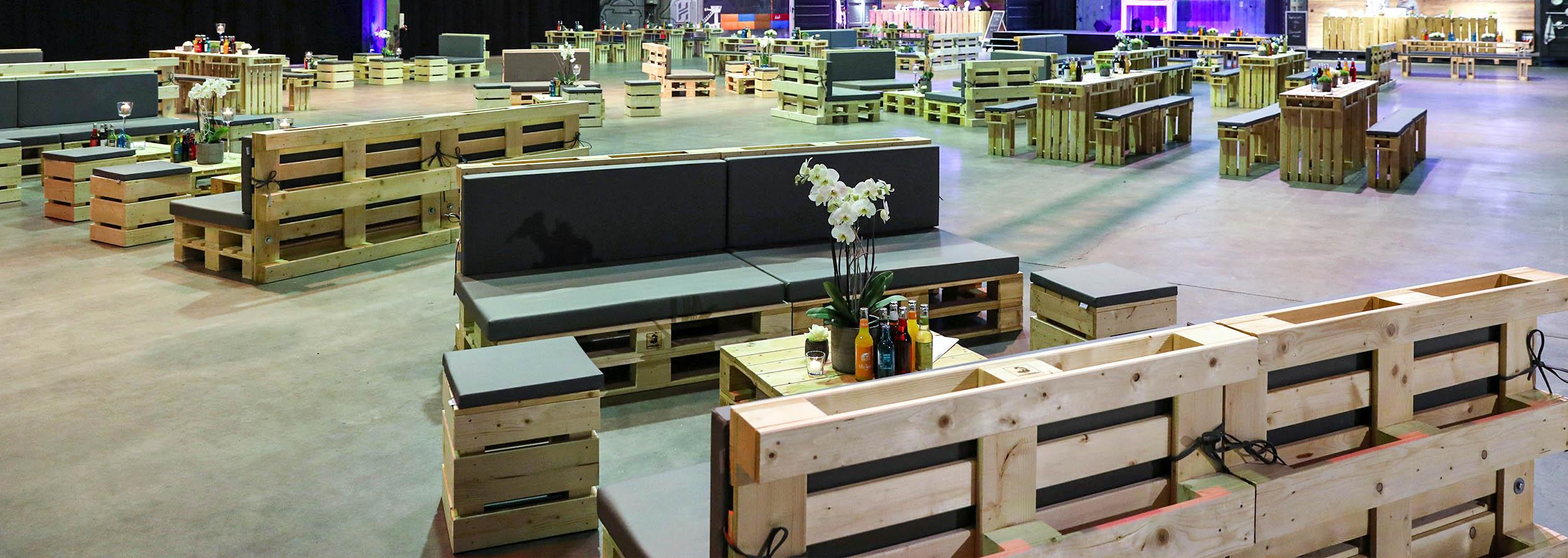 Loungebereiche für Kongresse