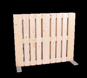 Paletten-Trennwand Modul vertikal - Mietmöbel von SUPERSACK