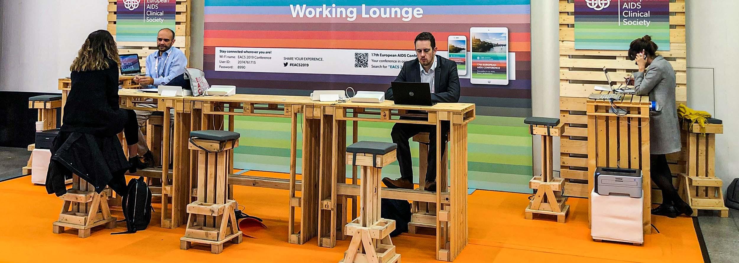 Workstations für Kongresse