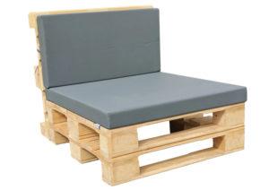 Paletten-Lounge-Modul klein - mit Palettenkissen Basic von SUPERSACK