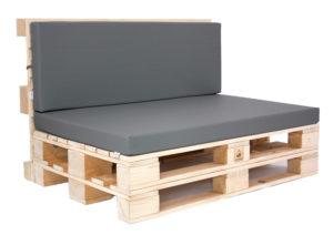 Paletten-Lounge-Modul - mit Palettenkissen Basic von SUPERSACK