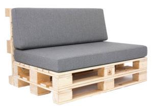 Paletten-Lounge-Modul - mit Palettenkissen Premium von SUPERSACK