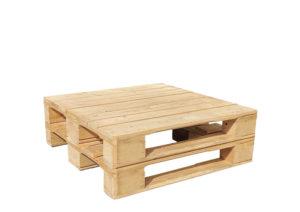 Paletten-Lounge-Tisch klein von SUPERSACK