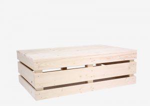 Paletten-Loungetisch 2.0 - 120x80 von SUPERSACK