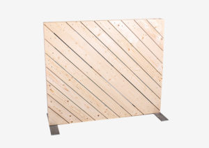 Paletten-Trennwand diagonal blickdicht 1m von SUPERSACK