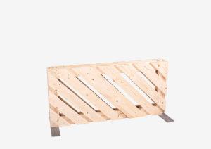 Paletten-Trennwand diagonal offen 0,56m von SUPERSACK