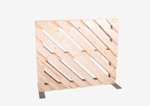 Paletten-Trennwand diagonal offen 1m von SUPERSACK