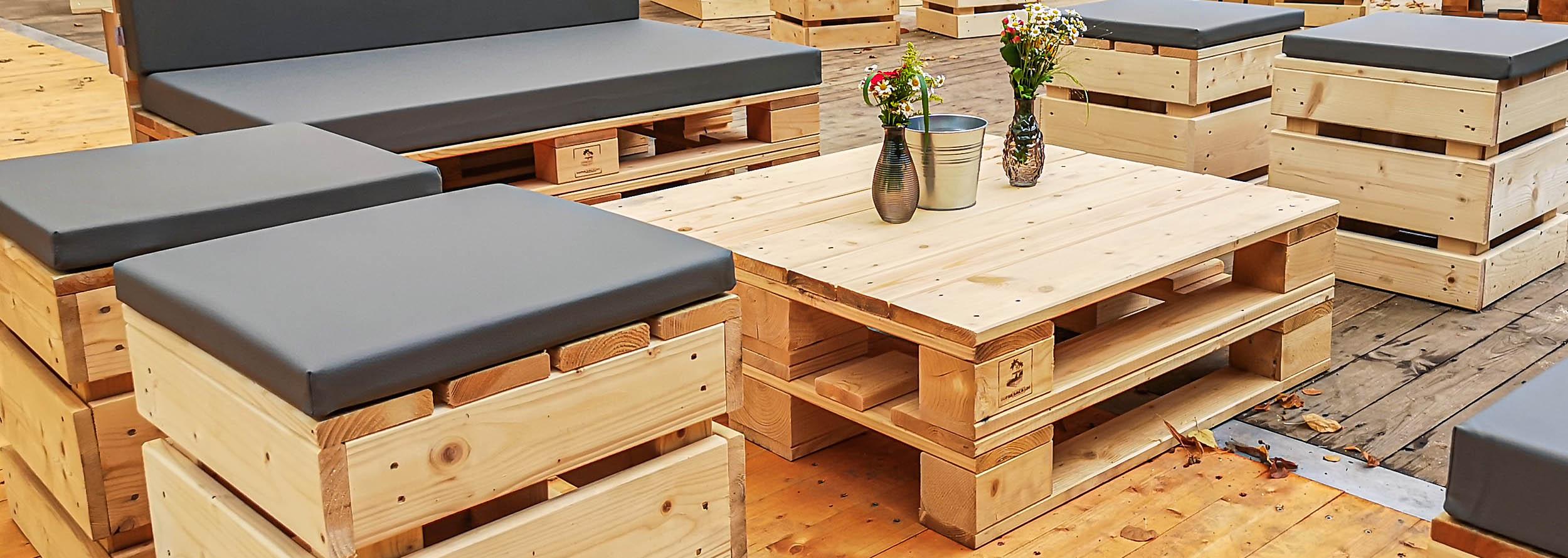 Palettenmöbel kaufen - Paletten-Tische von SUPERSACK