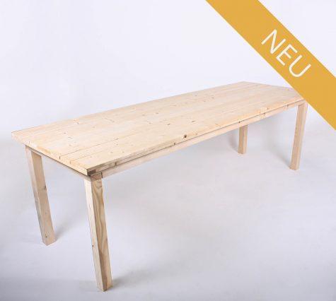Paletten-Sitztisch 240x80 von SUPERSACK