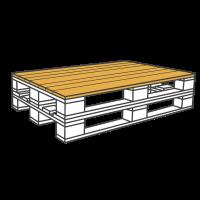 Paletten-Tische