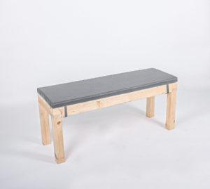 Sitzbank KOMFORT - Länge 120 cm