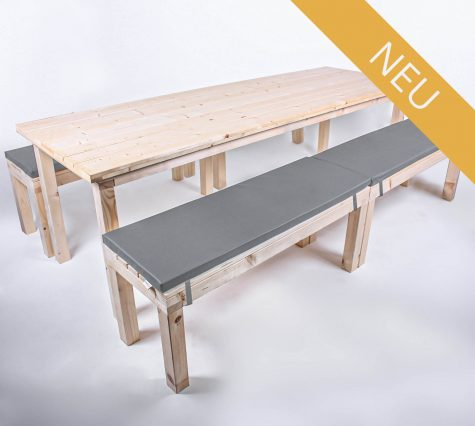 Sitzgarnitur KOMFORT 12 Personen Tisch 240cm