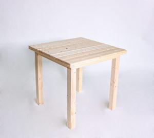 Sitztisch KOMFORT - Tischlänge 80cm