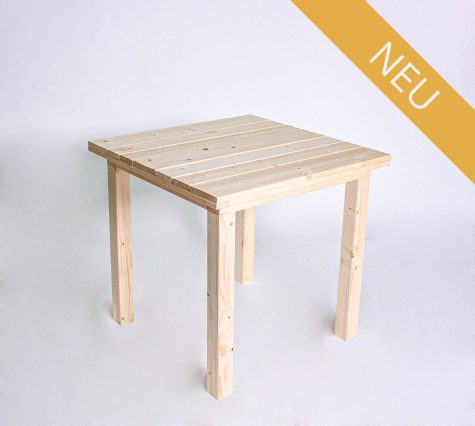 Sitztisch KOMFORT 80 cm