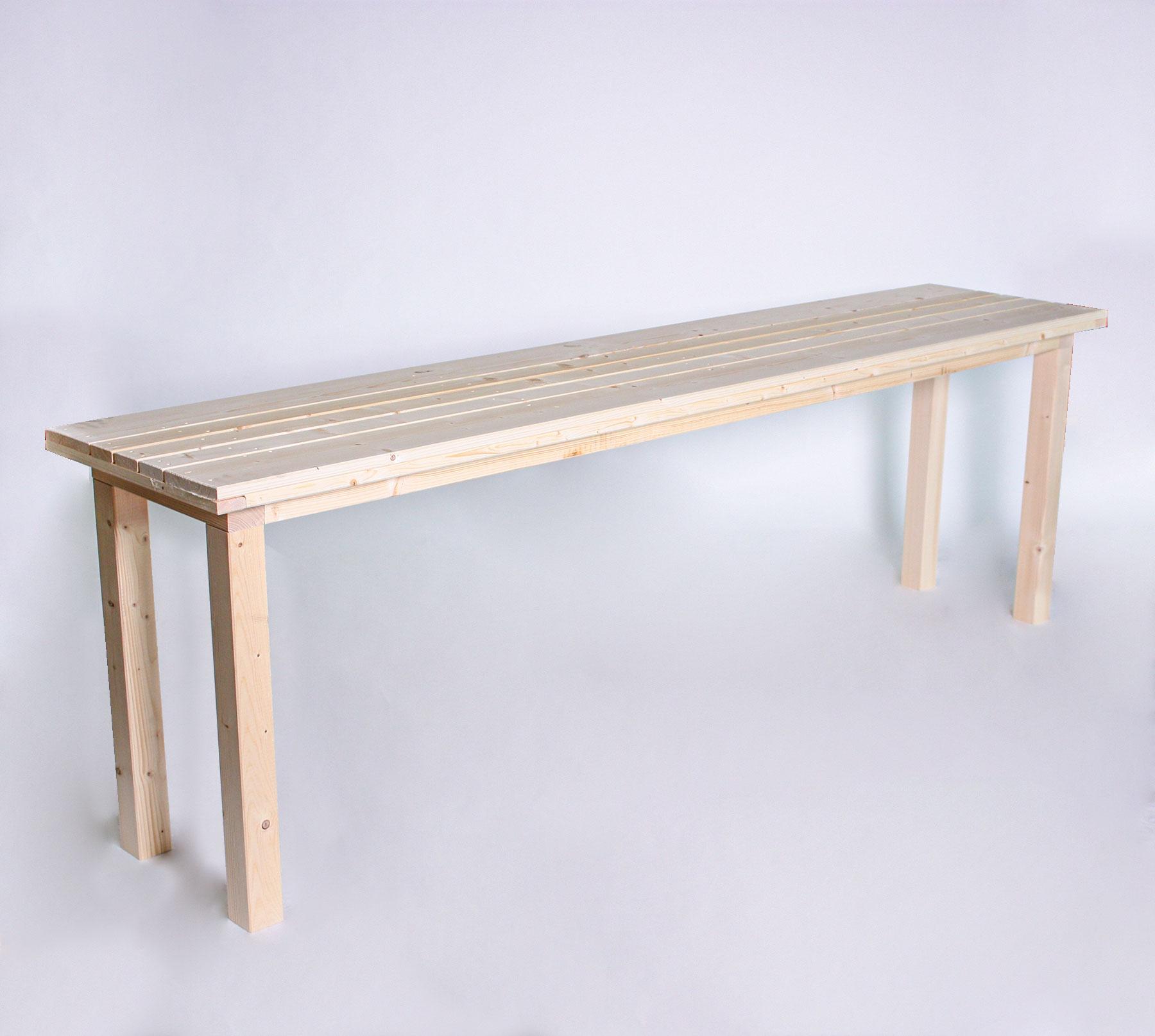 Sitztisch KOMPAKT - Tischlänge 240cm