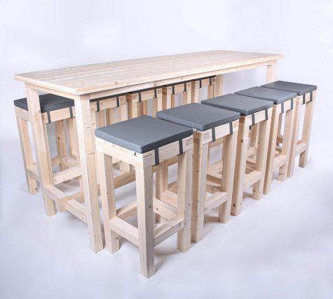 Stehgarnitur KOMFORT 10 Personen Tisch 240cm kaufen