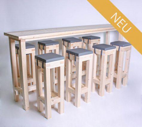 Stehgarnitur KOMPAKT 8 Personen Tisch 240cm kaufen