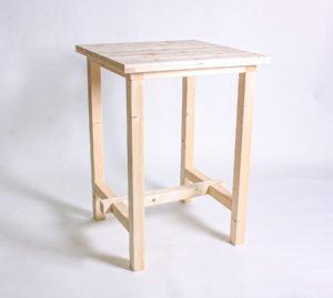 Stehtisch KOMFORT - Tischlänge 80cm