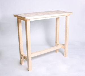 Stehtisch KOMFORT - Tischlänge 120cm - NEU
