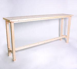 Stehtisch KOMFORT - Tischlänge 240cm - NEU