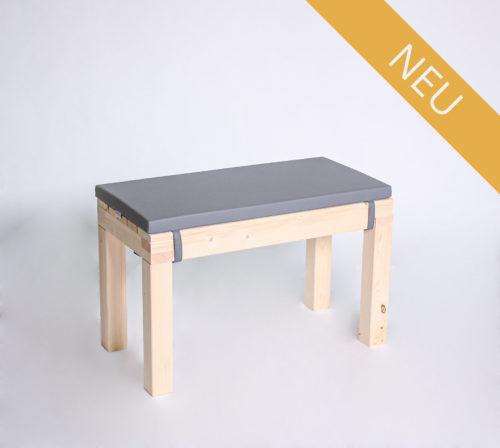 Sitzbank KOMFORT - Länge 80 cm - mit Polster - NEU