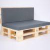 Palettenkissen Outdoor - Sitzkissen & Rückenkissen - Dark Mouse
