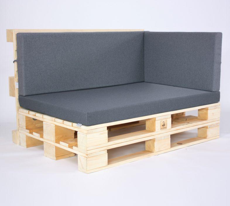 Palettenkissen Outdoor - Sitzkissen, Seitenkissen & Rückenkissen - Dark Mouse